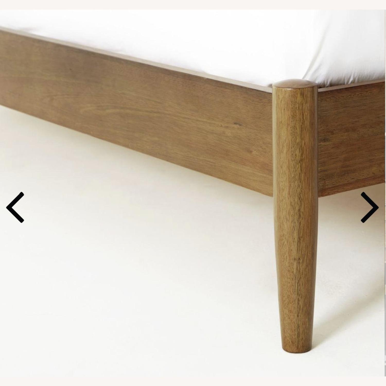 West Elm Mid Century Queen Bed (Acorn) - image-3