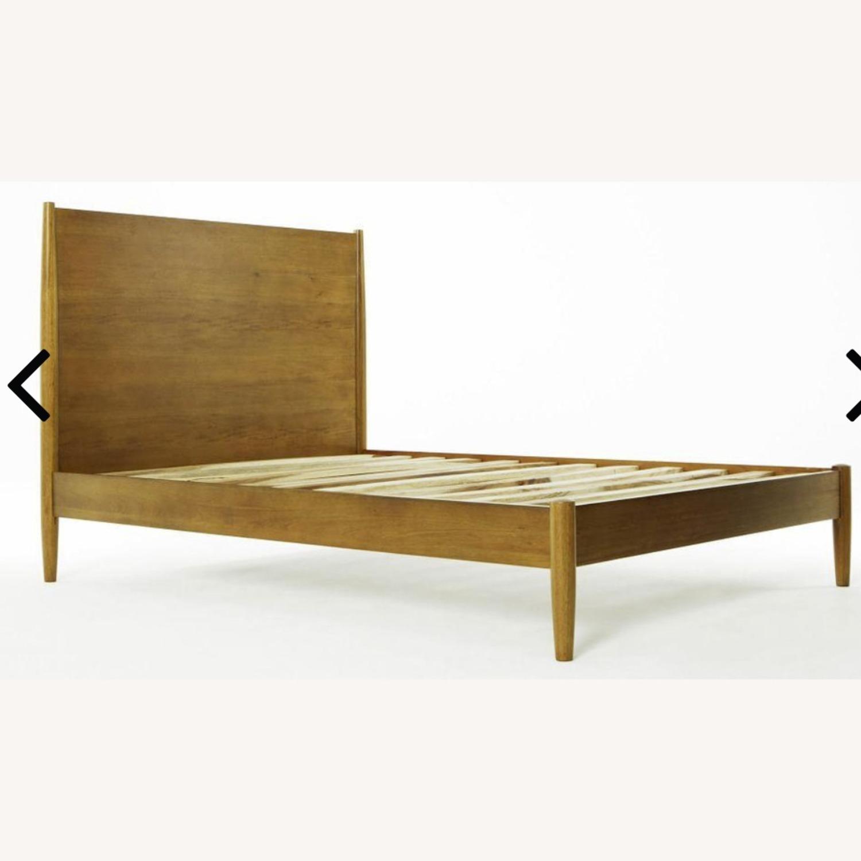 West Elm Mid Century Queen Bed (Acorn) - image-2