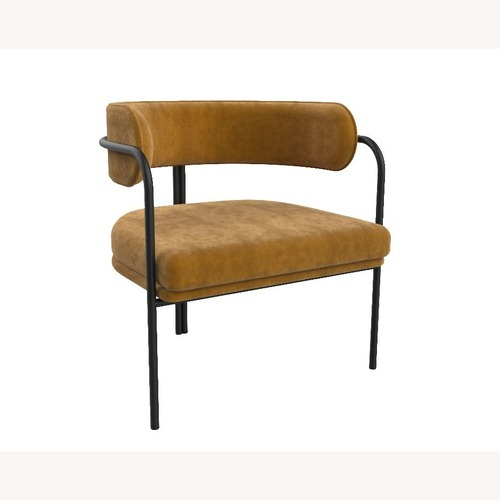 Used Scandinavian Design Metal Frame Armchair for sale on AptDeco