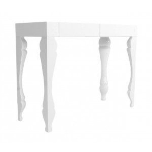 Used Modani White Lacquer Console Table for sale on AptDeco