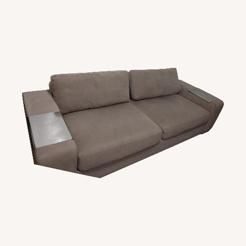 Used EQ3 Microsuede Sofa for sale on AptDeco