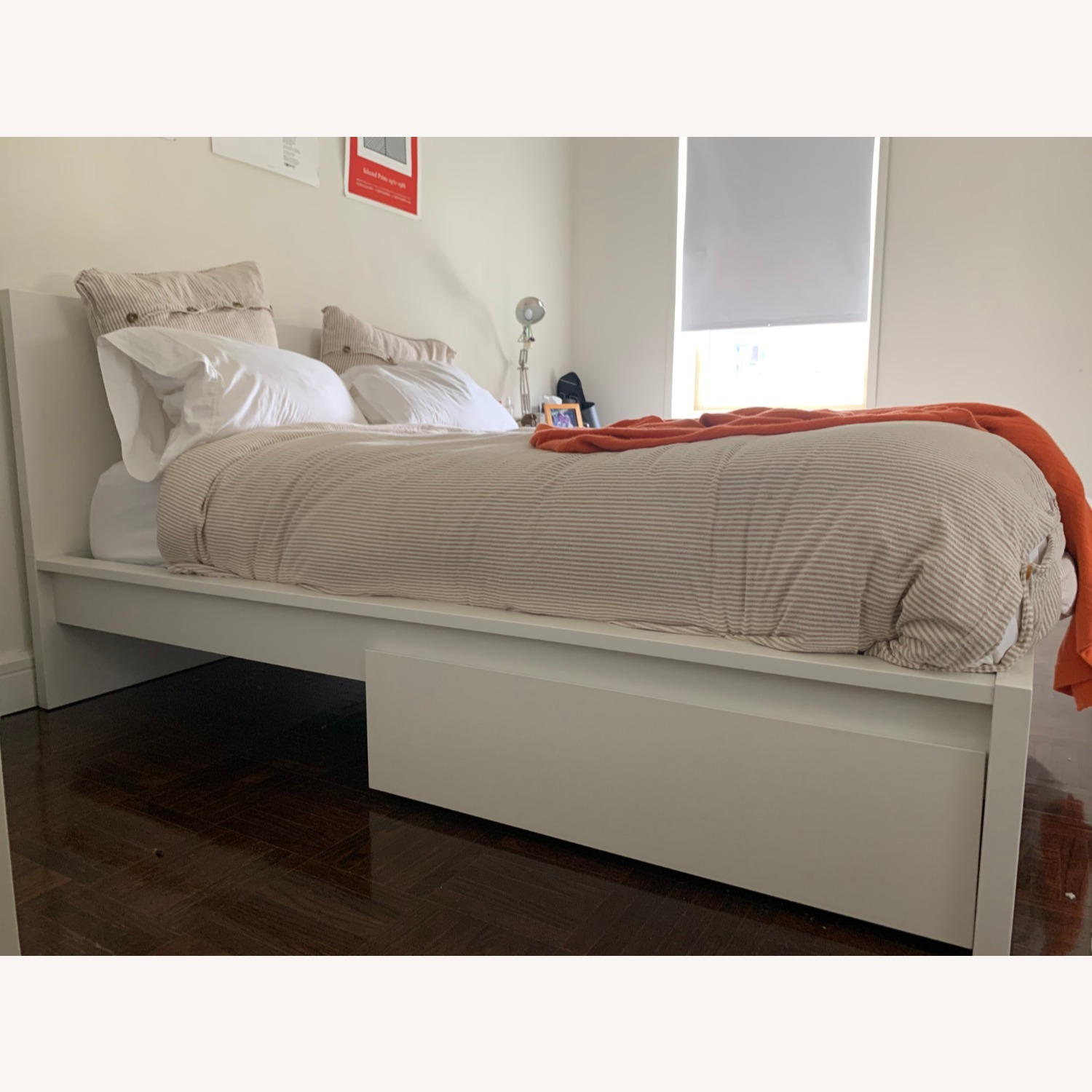 IKEA MALM Queen Bed with 2 Drawers - image-4