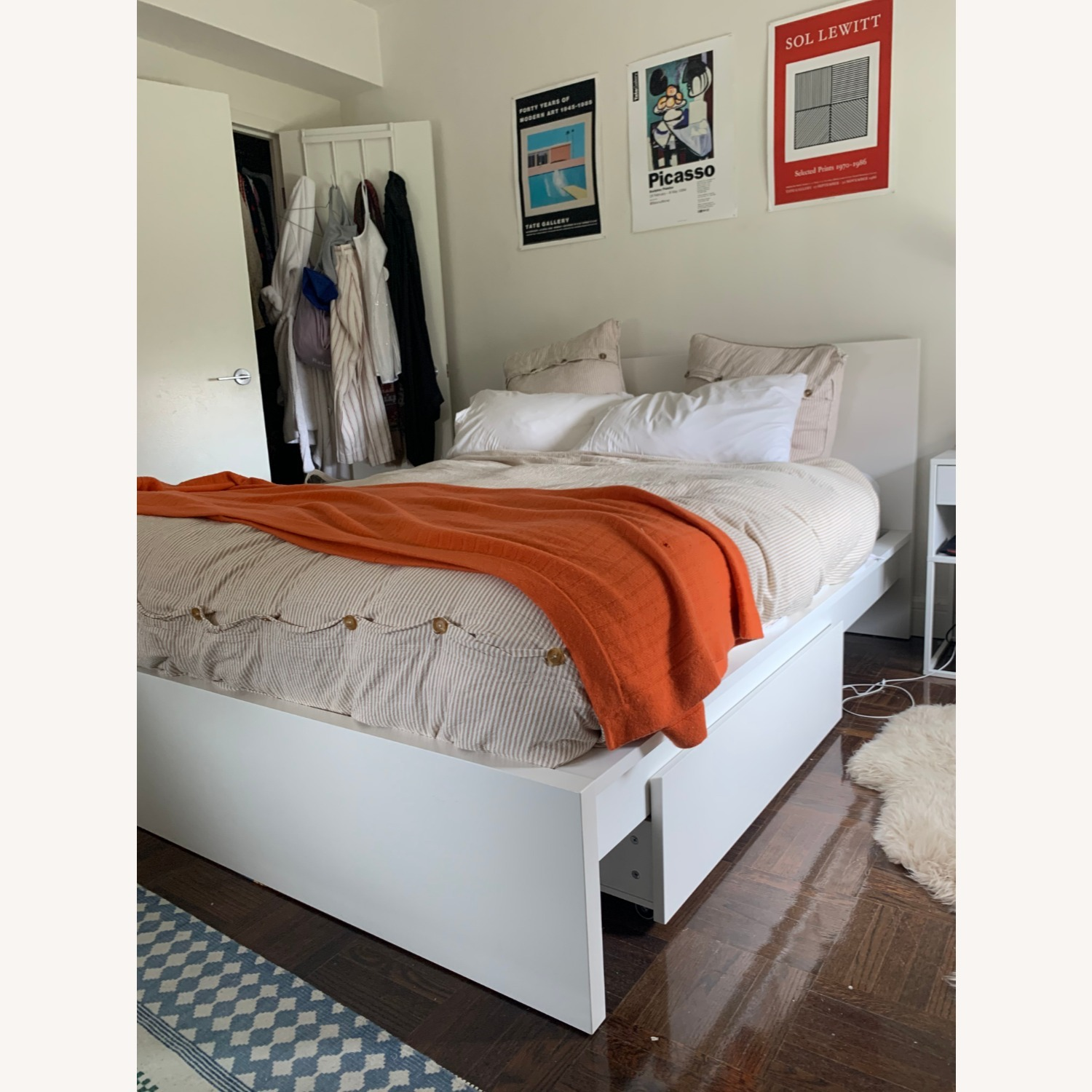 IKEA MALM Queen Bed with 2 Drawers - image-5