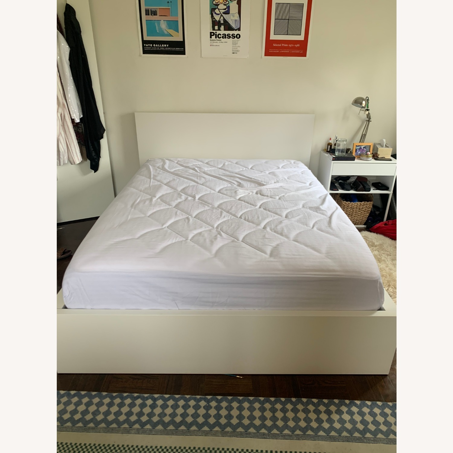 IKEA MALM Queen Bed with 2 Drawers - image-3