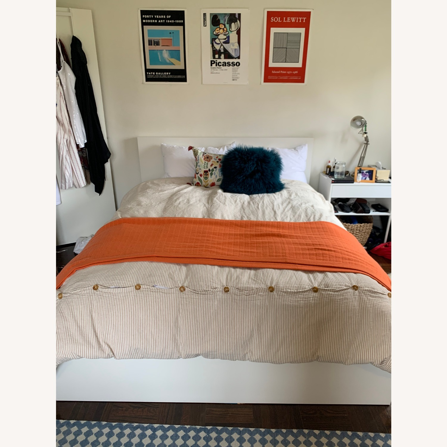 IKEA MALM Queen Bed with 2 Drawers - image-6
