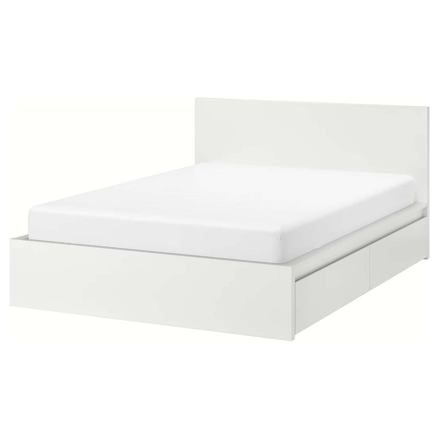 IKEA MALM Queen Bed with 2 Drawers - image-1