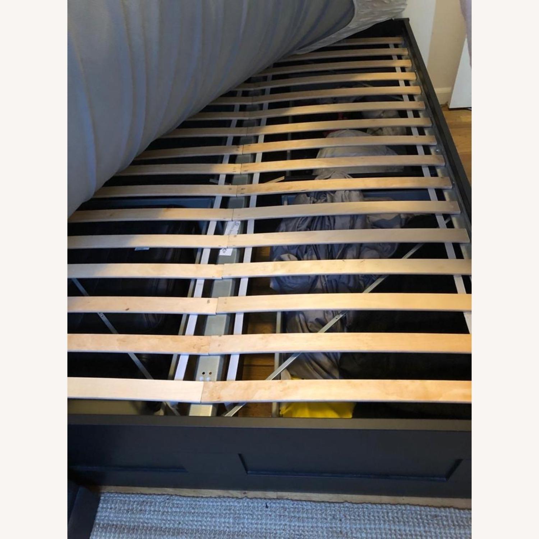 IKEA BRIMNES Bed Frame with Storage - image-4