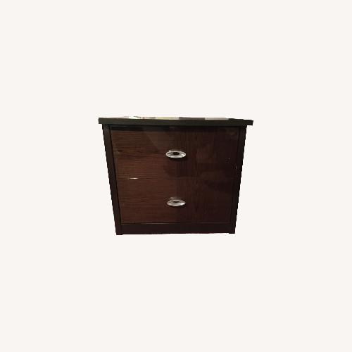 Used Huffman Koos  Bedroom Nightstands x2 for sale on AptDeco