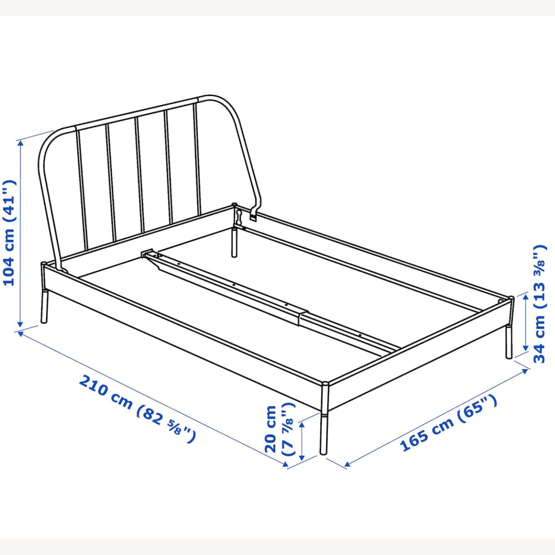 IKEA KOPARDAL Gray Queen Bed Frame - image-2