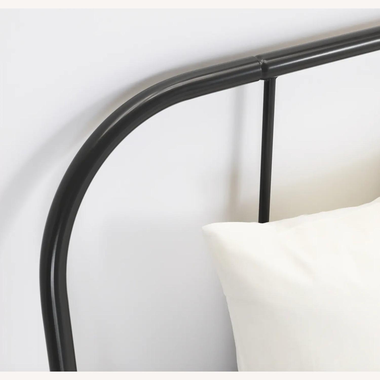 IKEA KOPARDAL Gray Queen Bed Frame - image-3