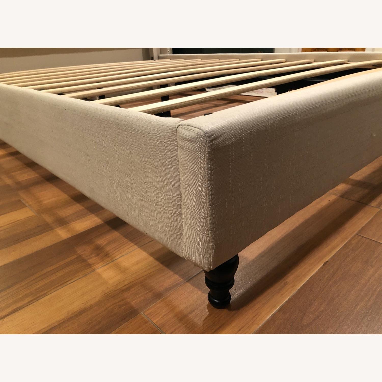 Upholstered Queen Bed Frame - image-3