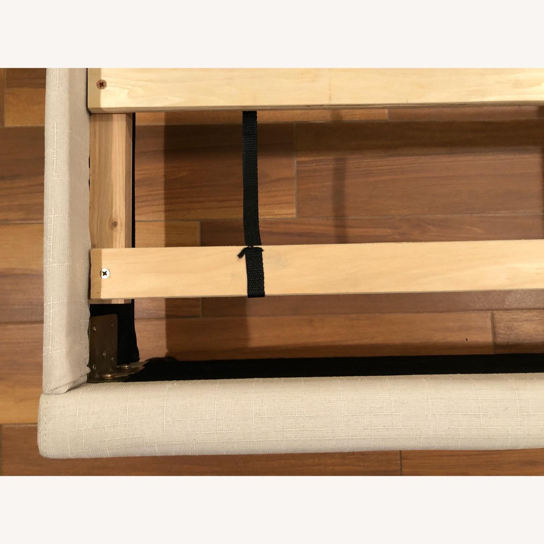 Upholstered Queen Bed Frame - image-4