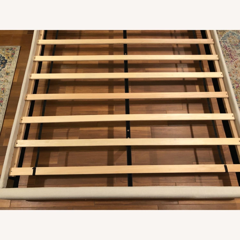 Upholstered Queen Bed Frame - image-5