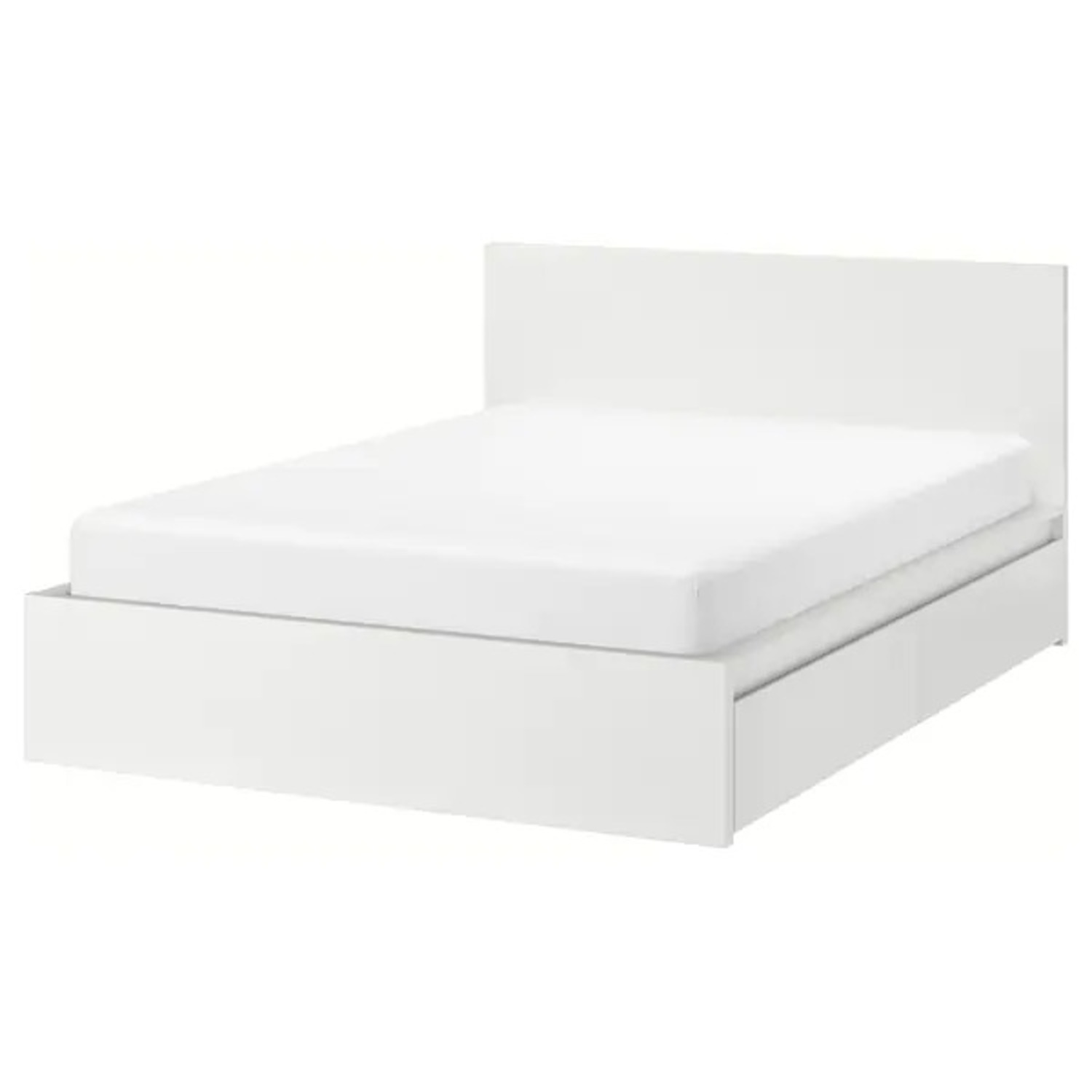 IKEA MALM Full Bed Frame with Four Storage boxes - image-3