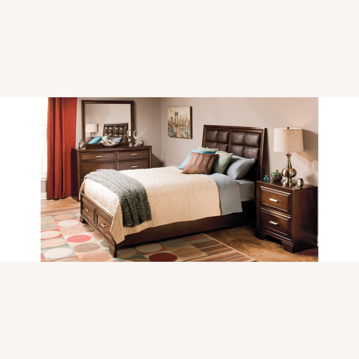 Raymour & Flanigan Levine Queen Storage Bed - image-1