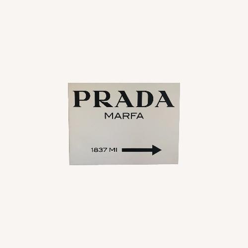 Used Prada Marfa Wall Art for sale on AptDeco