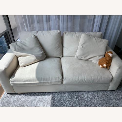 Used Room & Board Microfiber Sofa for sale on AptDeco