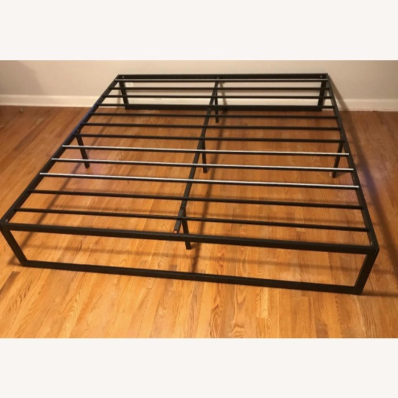 Zinus Black Metal Queen Bed Frame - image-3