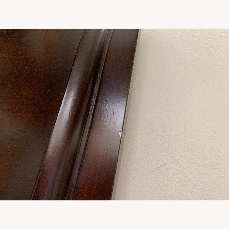 Rooms To Go Dark Wood Platform Queen Bed - image-2