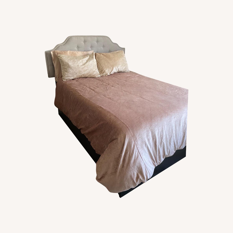 IKEA Full Bed w/ Storage Drawers - image-0