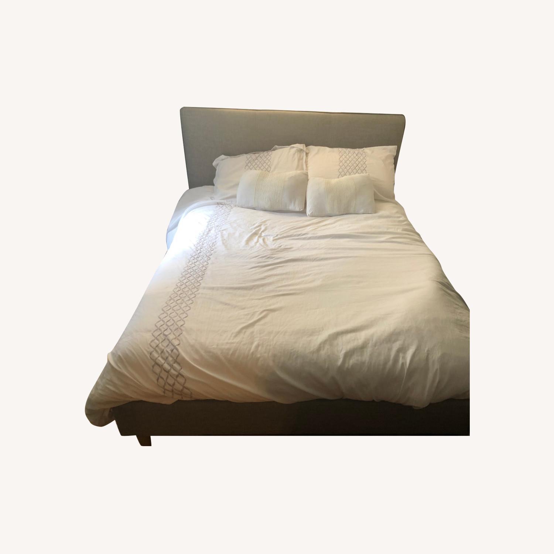Pellegrino Upholstered Platform Bed Frame - image-0
