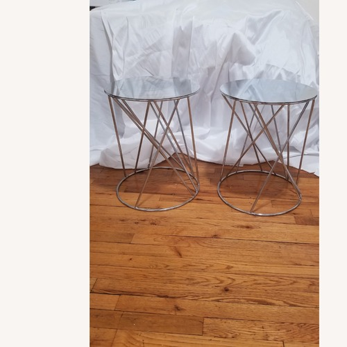 Used West Elm Silver Side Tables for sale on AptDeco