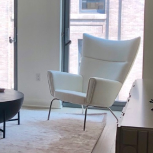 Used Rove Concepts Hans Wegner Wing Chair for sale on AptDeco