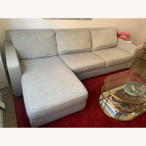 Used West Elm 2-Piece Full Sleeper Sectional w/ Storage for sale on AptDeco