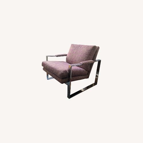 Used Milo Baughman Chrome Armchair for sale on AptDeco