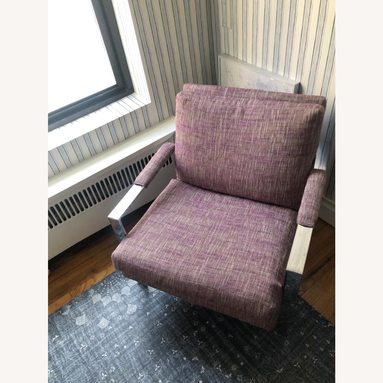 Milo Baughman Chrome Armchair - image-4