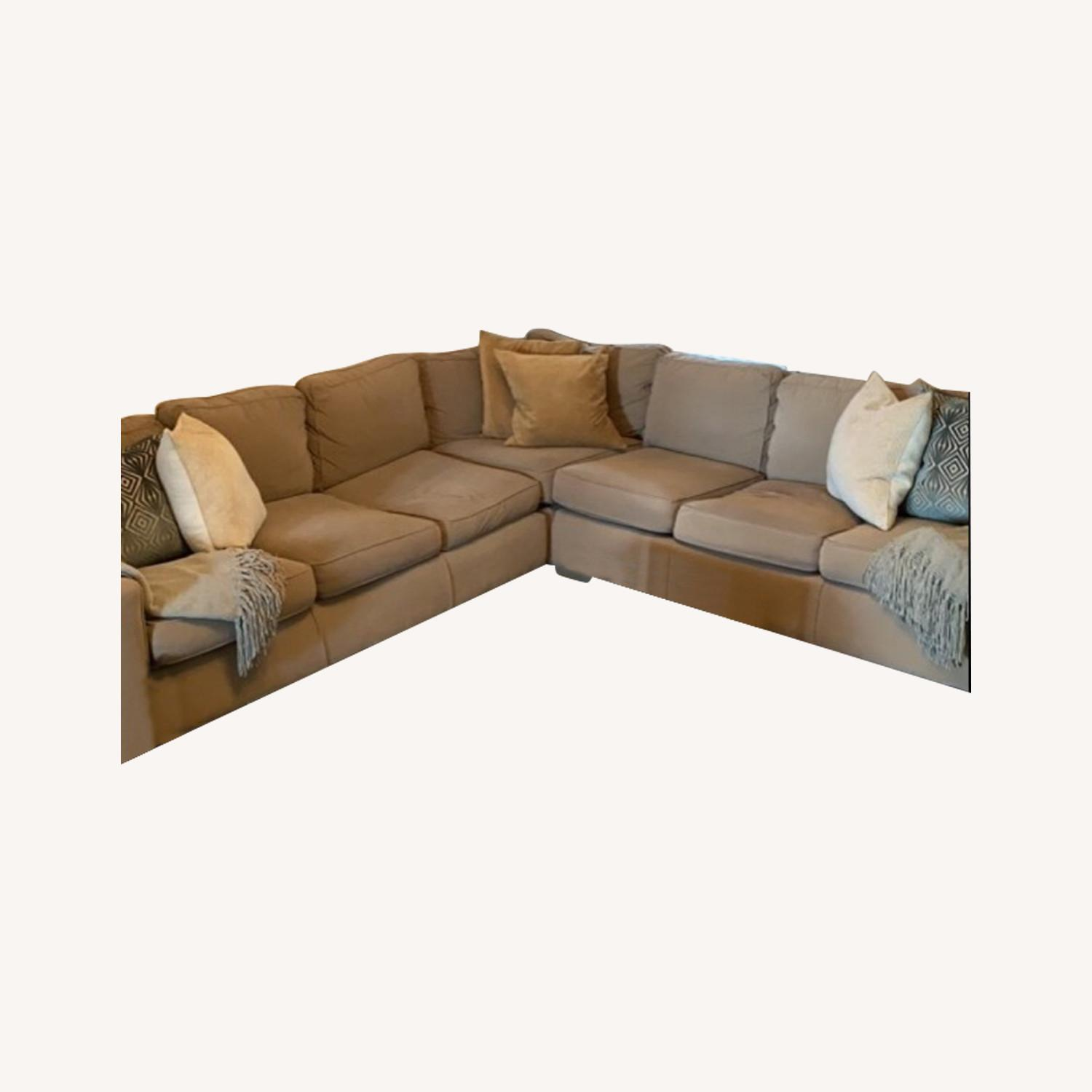 Mitchell Gold 3-Piece Sectional - image-0