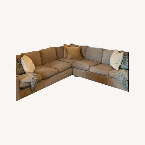 Used Mitchell Gold 3-Piece Sectional for sale on AptDeco