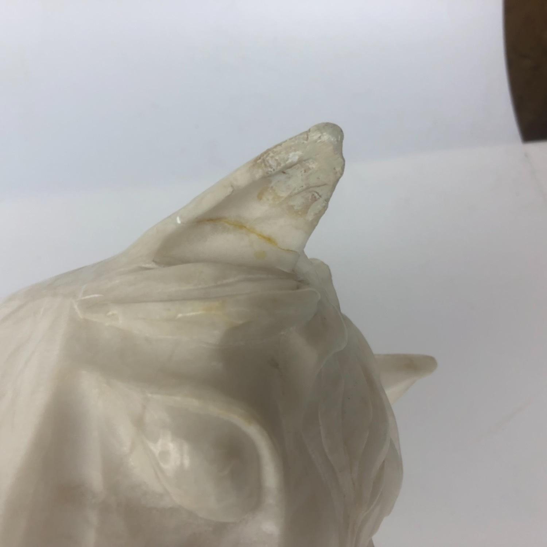 Vintage Marble Horse Head Statue - image-11
