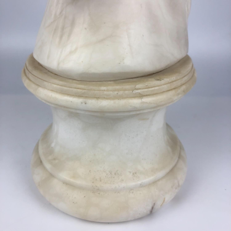 Vintage Marble Horse Head Statue - image-10