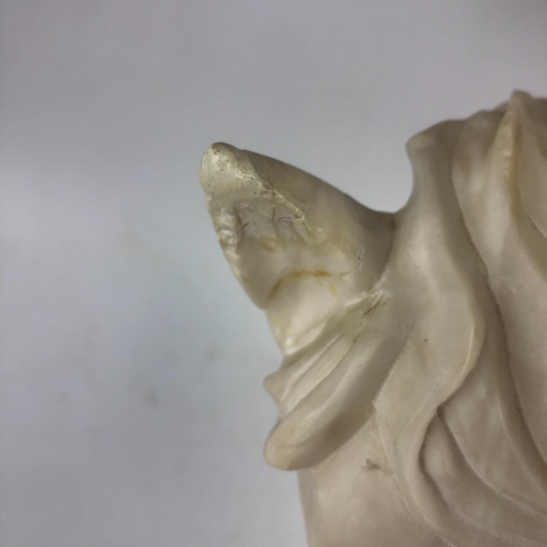 Vintage Marble Horse Head Statue - image-8