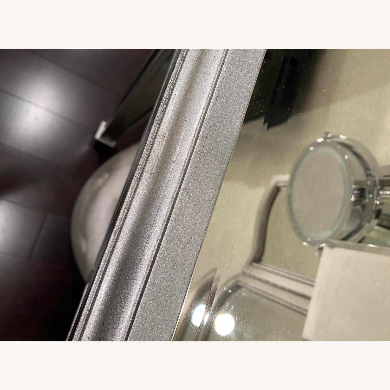 Pier 1 Hayworth Silver Mirror & Vanity - image-15