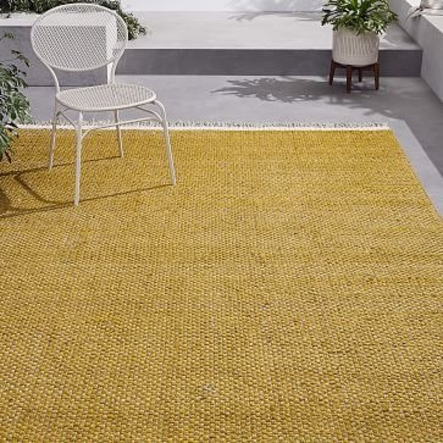 West Elm Rope Crossweave Indoor/Outdoor Rug - image-3