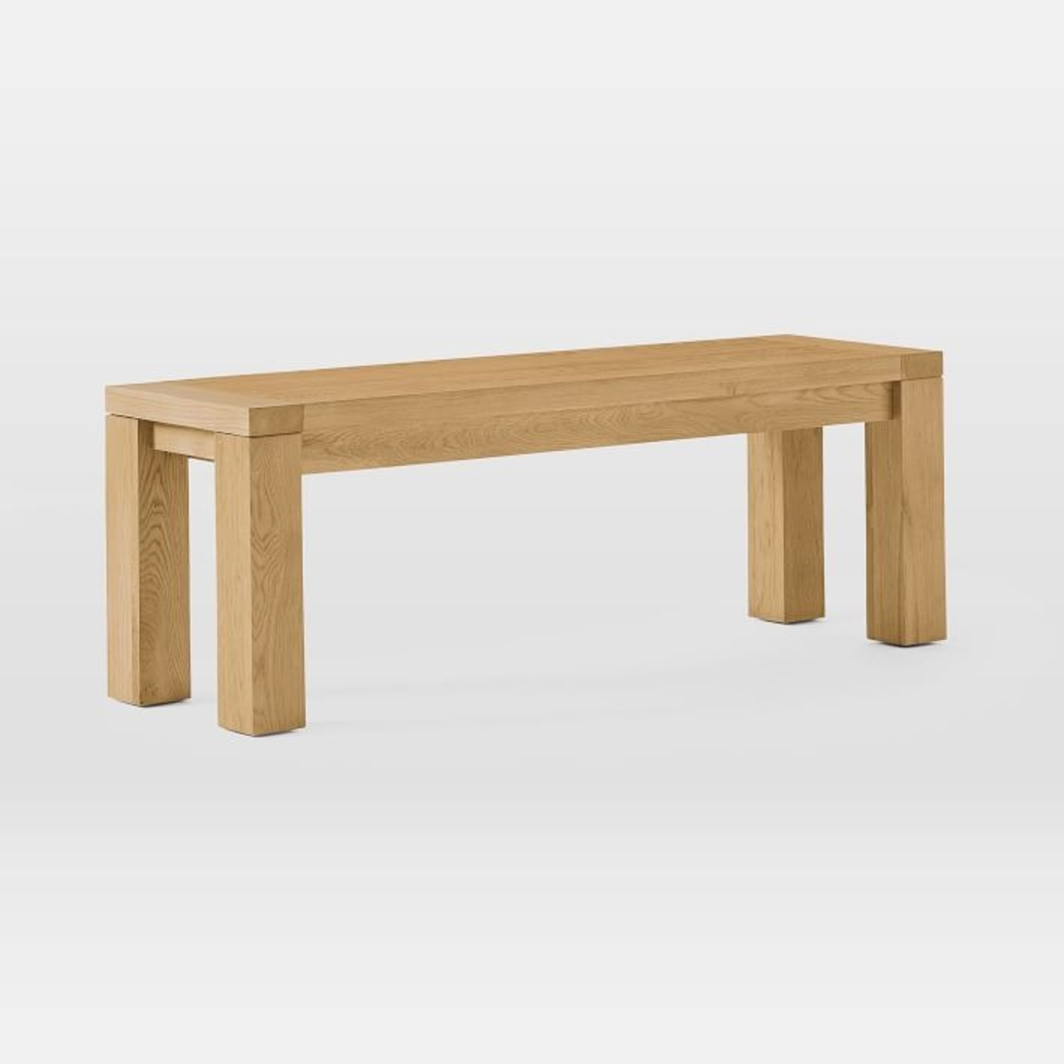 West Elm Tahoe Solid Wood Dining Bench - image-1