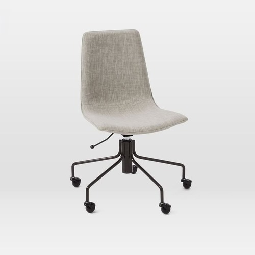 Used West Elm Upholstered Office Chair for sale on AptDeco