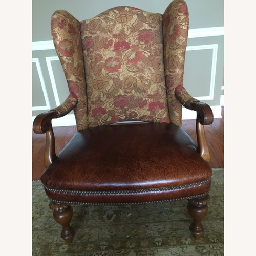 Used Thomasville Dominique Wing Back Chair for sale on AptDeco