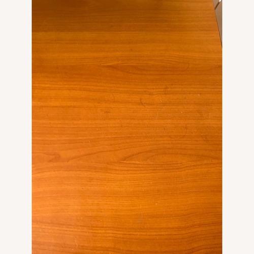 Used IKEA Brown & Steel Office Desk for sale on AptDeco