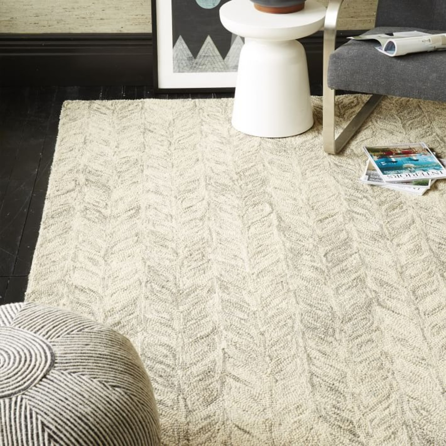 West Elm Vines Rug - image-3
