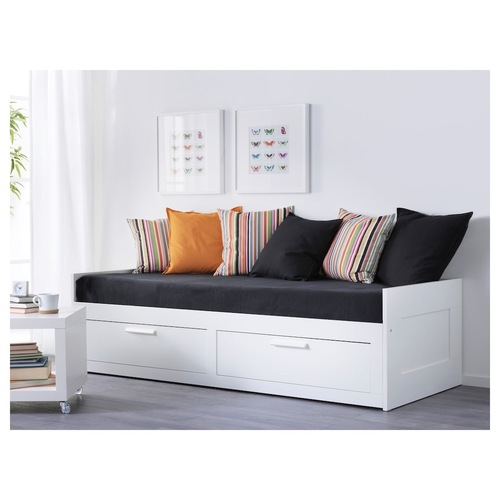 Used IKEA Full sized bed with storage for sale on AptDeco