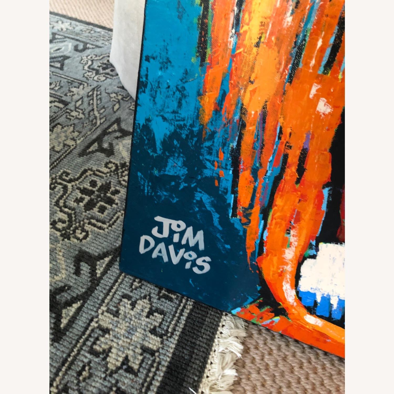 Jim Davis Garfield Painting - image-2