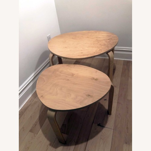 Used IKEA Nesting Tables, set of 2 for sale on AptDeco