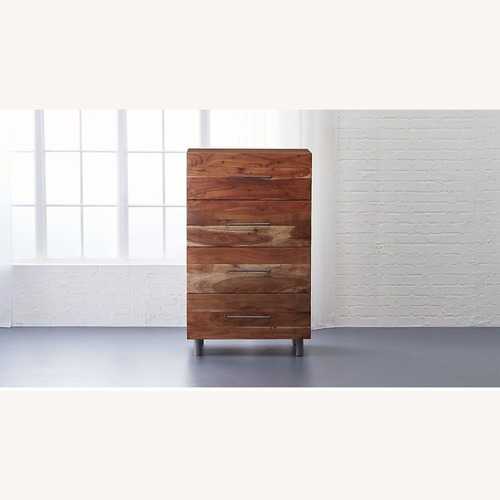 Used CB2 Junction Tall Chest for sale on AptDeco