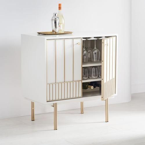 Used West Elm Zelda Bar Cabinet for sale on AptDeco