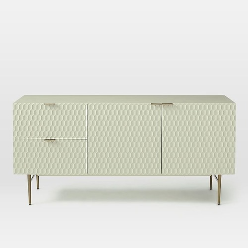 Used West Elm Audrey Dining Buffet, Wood, Parchment for sale on AptDeco