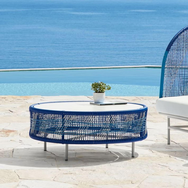 West Elm Roar & Rabbit Outdoor Coffee Table - image-4