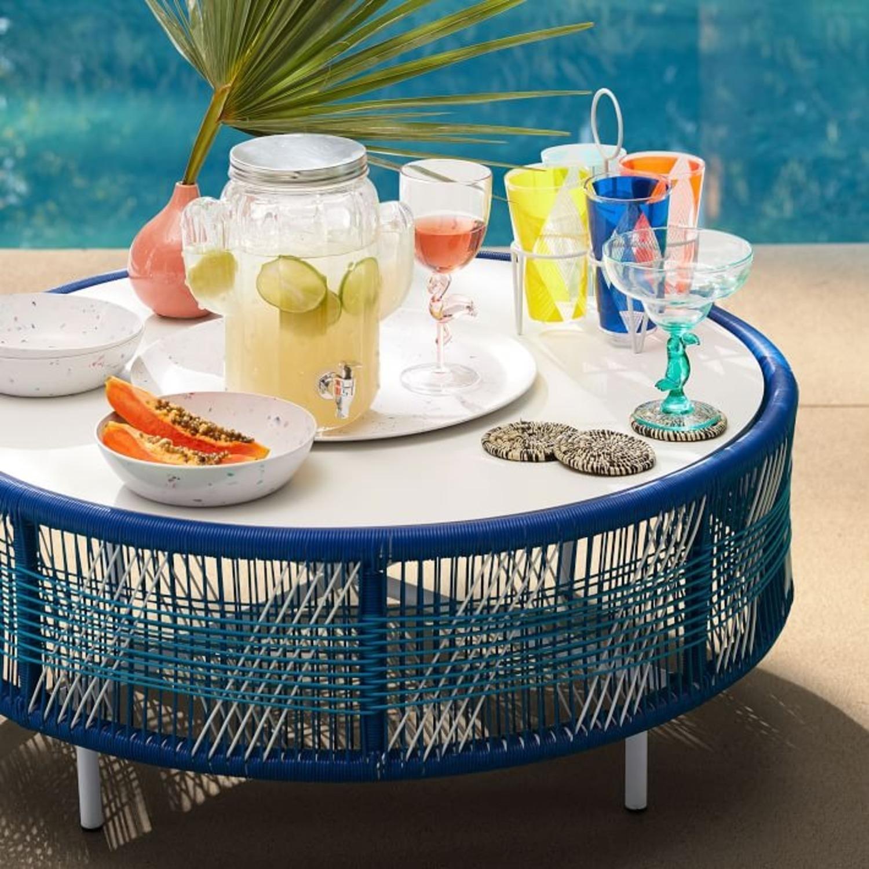 West Elm Roar & Rabbit Outdoor Coffee Table - image-2
